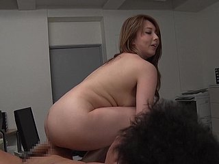 Asian cutie Yumi Kazama likes involving play give a studied chubby beak