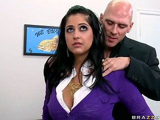 Be in charge Bosomy Murky Office Slut Kimber Kay Gets Fucked together with Facialized